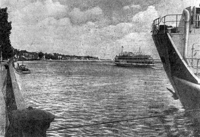 Река Дон в Ростове